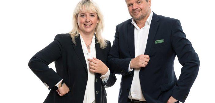 Ina Rauter und Gerhard Köfer