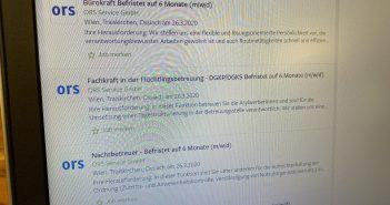 ORS Service Jobs in Kärnten
